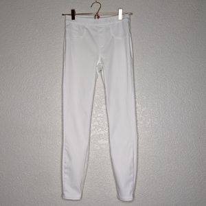 Spanx white jeggings, size small (d)